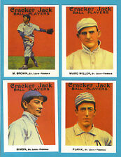 1915 Cracker Jack Reprint Team Sets: St. Louis Terriers/Federals (Mordecai)