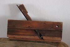 Ancien rabot en bois - Rabot à moulure - N°8