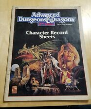 ADVANCED DUNGEONS AND DRAGONS 2ND EDITION CHARACTER RECORD SHEETS MAGAZINE