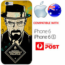 iPhone 6 6S Case Cover Silicone Breaking Bad Walter White Jesse Pinkman Cool AUS