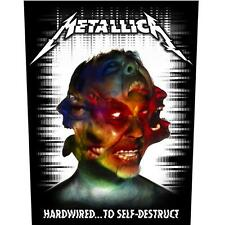 OFFICIAL LICENSED - METALLICA - HARDWIRED TO SELF DESTRUCT SEW ON BACK PATCH