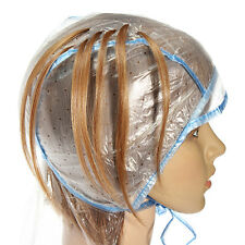 Pro Reusable Hair Colouring Highlighting Cap with Hook Frosting Tipping Needle