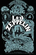 Led Zeppelin Electric Magic Wembley Concert Music Poster Print New 24x36 D14