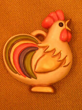 Gallo in ceramica Thun Italia