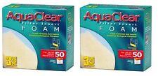 (6 PACK) AQUACLEAR 50 FOAM INSERT FILTER MEDIA. A-1394