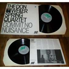 The Don Weller Spring Quartet ‎– Commit No Nuisance LP Affinity Free Jazz UK 79