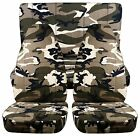 front+back cool URBAN CAMOUFLAGE CAR SEAT COVERS fit 1997-2006 Jeep Wrangler TJ
