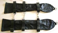 GENUINE LAMBS LEATHER BONDAGE OPERA GLOVES Small to Medium