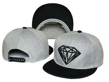 Hot Fashion Diamond SUPPLY CO Snapback style Baseball Hip-Hop Cool HTA/CAP Gray