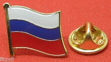 Russia Russian Country Flag Lapel Hat Cap Tie Pin Badge Brooch