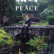 PEACE - THE WORLD IS TOO MUCH WITH US  VINYL LP  ROCK INDEPENDENT  NEU