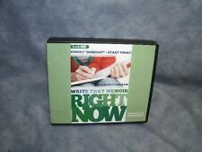 Write That Memoir Right Now : -Start Today by Kim Brittingham (2013, CD)