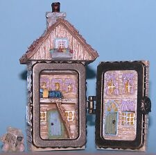 "Boyds Bears ""Julie's Dollhouse"" hinged box mouse, ""A.P. Mcnibble #392133 NIB"