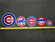 MLB Chicago Cubs Patches  5 Pc.Lot  Free Shipping !!!