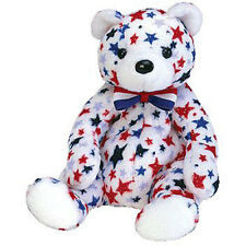 TY Beanie Baby - WHITE the Bear (Internet Exclusive) (7 inch) - MWMT's