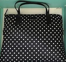 Kate Spade New York Daveny Classic Nylon Laptop Case Bag In Diamond DoTs NWT