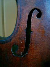 "Sehr alte 4/4 Geige m. Zettel ""J. GUARNERIUS CREMONAE 1725 I+H+S"""
