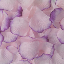 100 Simulation Rose Petals Artificial Flower Wedding Supplies Confetti Color 46