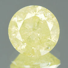 2.23 cts BIG Certified Round Cut Intense Yellow Color Loose Natural Diamond 7740