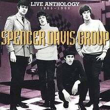 SPENCER DAVIS GROUP - LIVE ANTHOLOGY 1965-1968 CD - BEAT FREAKBEAT OOP - SS