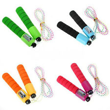 Skipping Jump Speed Rope With Counter Number Sports Fitness Exercise Multicolor
