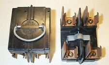 AMERICAN 60 AMP MAIN SWITCH FUSE PANEL PULL OUT FUSE HOLDER VINTAGE