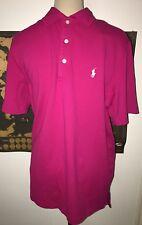 BNWT Ralph Lauren Polo Golf Rosa Polo Taglia M. Idea regalo!