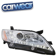 TOYOTA CAMRY 07-09 CHROME LED DRL PROJECTOR HEAD LIGHTS