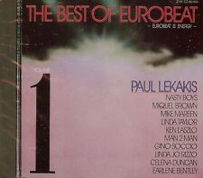 THE BEST OF EUROBEAT VOL.1 - VARIOUS ARTISTS - CD - NEW