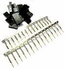 RC R/C JR Set Male Female Connector Battery or Servo Wire Plug Gold Plated x 5