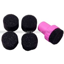 New Magic Nail Sponge For UV Gel Polish Stamping Transfer Manicure Care DIY Sets