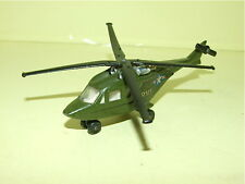 HELICOPTERE ARMY MILITAIRE MATCHBOX LESNEY