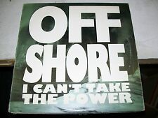 """Off Shore-I Can't Take the Power-12""""Single-Vinyl Record-Epic-4573751-VG+"""