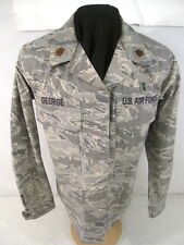 USAF Tiger Stripe Camouflage Woman's Combat BDU Coat Jacket or Shirt - SZ 14 Reg