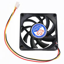 DC 12V 3Pin Ball Bearing 70x70x15mm 70mm 7015 Brushles CPU Cooling Fan