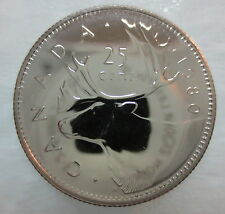 1980 CANADA 25 CENTS PROOF-LIKE COIN