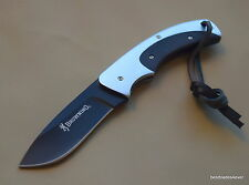 BROWNING OBSESSION FIXED BLADE FULL TANG HUNTING SKINNING KNIFE NYLON SHEATH