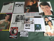 MATTHEW BRODERICK - FILM STAR -  CLIPPINGS /CUTTINGS PACK