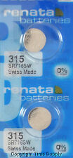 2 pcs 315 Swiss Renata Watch Batteries SR716SW SR716SW 0% MERCURY