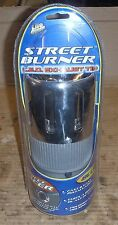 Street Burner L.E.D.(Blue) Chrome Tail Pipe,Lights up Blue,Brand New unopened