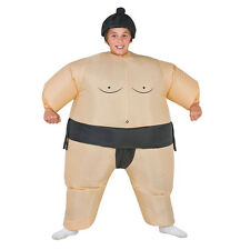 Inflatable Sumo Wrestling Costume For Kids Suit Boys Fancy Dress Outfit Gift