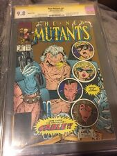 The New Mutants SS CGC 9.8  Gold Edition Signed Free Shipping