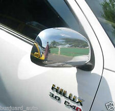 CHROME WING MIRROR COVER TRIM TOYOTA HILUX MK6 SR5 VIGO PICKUP PICK UP 2005-2011