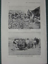 1915 WWI WW1 PRINT MAKING BOMBS FROM TIN CANS GALLIPOLI ~ SHELLS BRITISH BATTERY