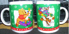 Christmas Holiday Mug Winnie the Pooh & Tigger christmas tree balls angel gifts
