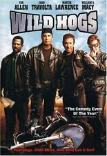 Wild Hogs  DVD Tim Allen, Martin Lawrence, John Travolta, William H. Macy, Ray L