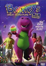 Barney's Great Adventure (2002, REGION 0 DVD New)