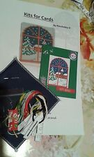 THIS SMALL 18 ct CROSS STITCH CHRISTMAS CARD QUICK KIT G2