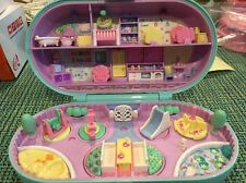 1992 Bluebird Polly Pocket Stamping Baby Nursery Playground Compact