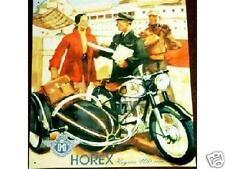 Altes Blechschild Oldtimer Motorrad Horex Regina Steib Beiwagen gebraucht  used